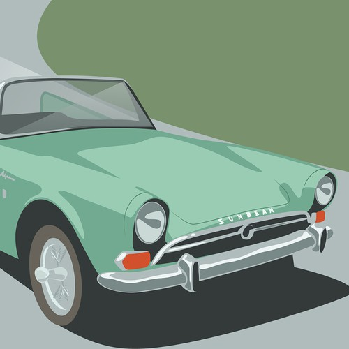 car poster