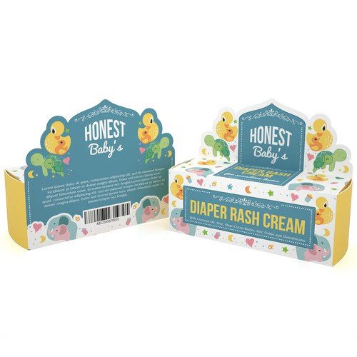 PRODUCT PACKAGING FOR HONEST BABY