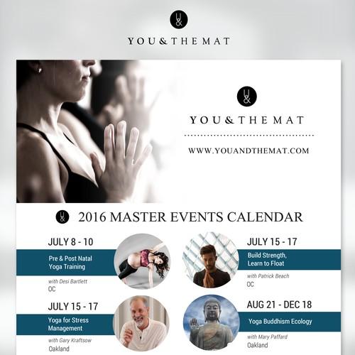 Yoga Events Calendar