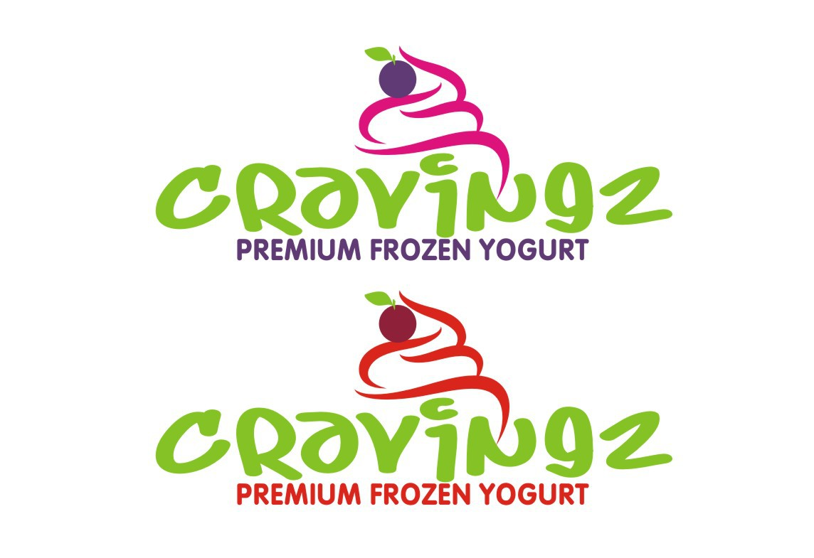 Help Cravingz, Premium Frozen Yogurt with a new logo