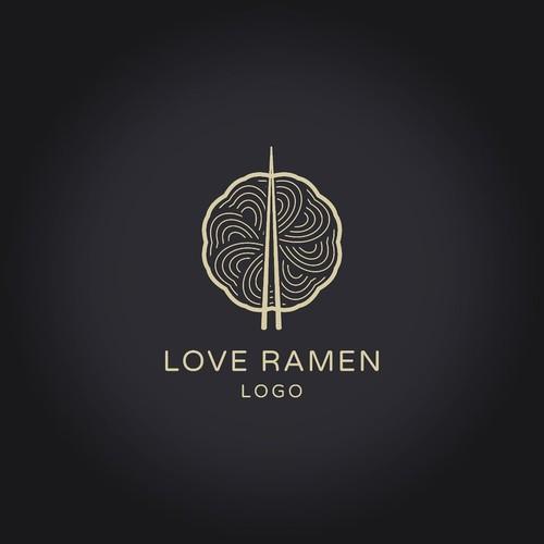 FOR SALE: LOVE RAMEN LOGO