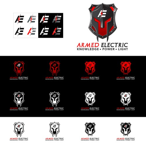 Armed Electric logo