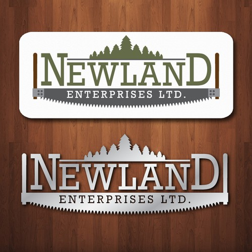 New look required! Create the look and brand for innovative logging company!