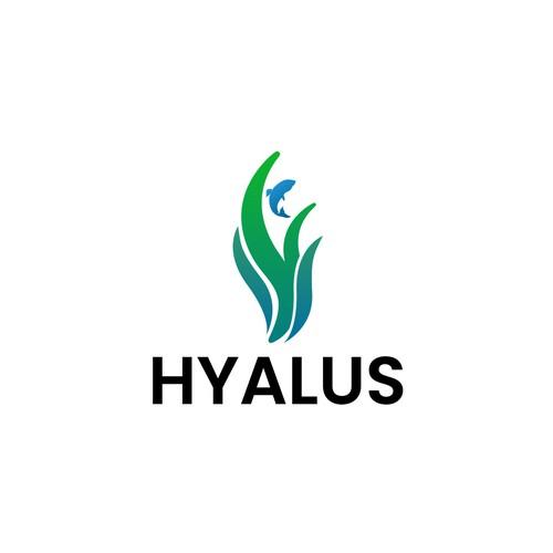 Fun and professional aqua-based logo