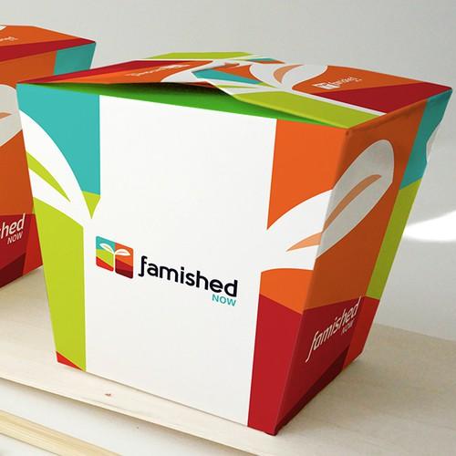 Logo design for Famished Now!