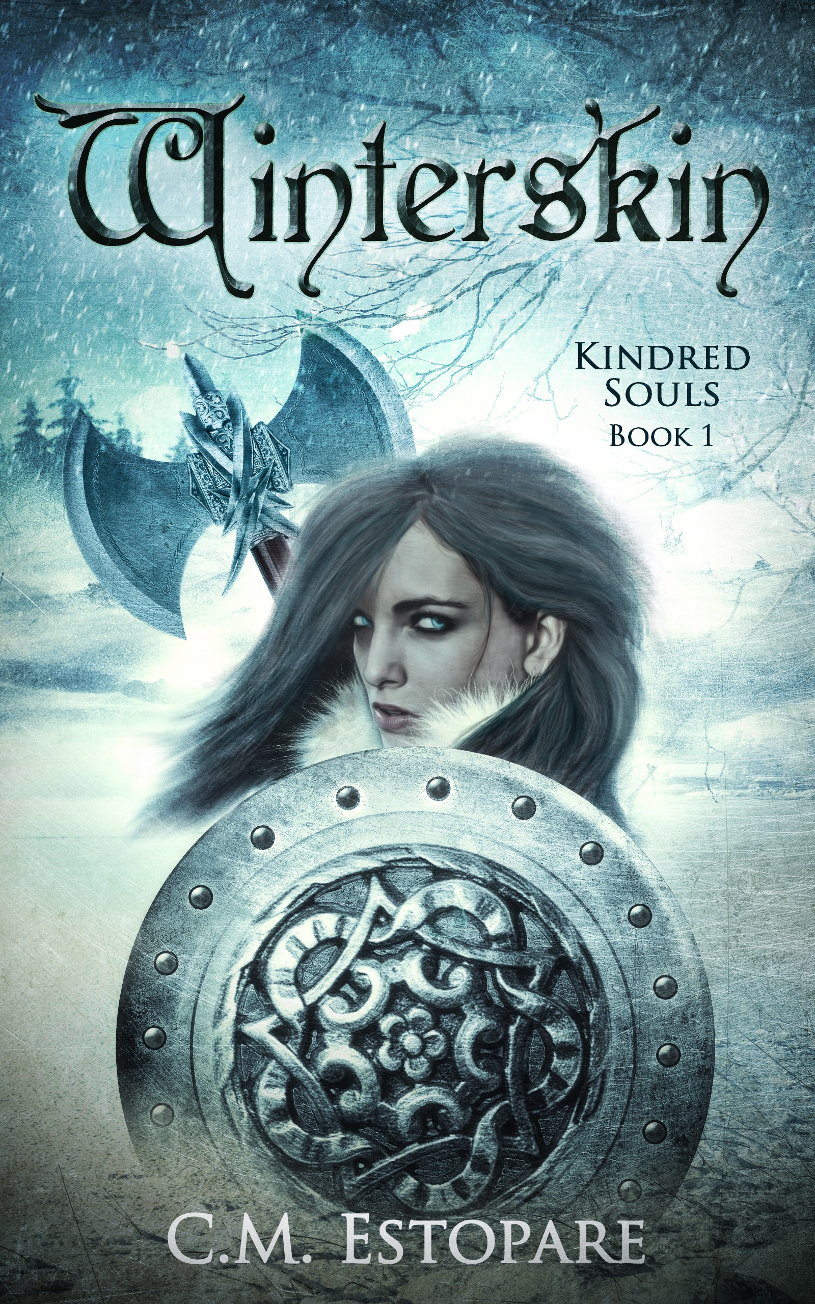 Design a gritty cover for Winterskin