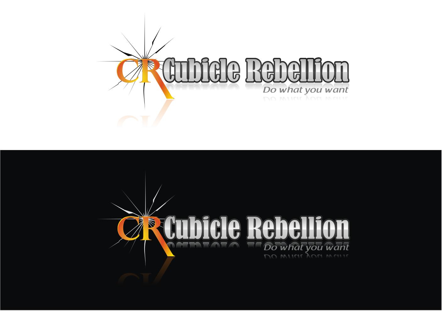 Cubicle Rebellion: Edgy, but elegant, anti-corporate logo needed