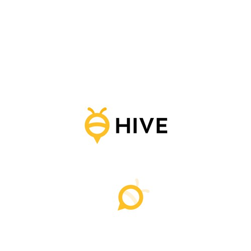 Logo for hive communications
