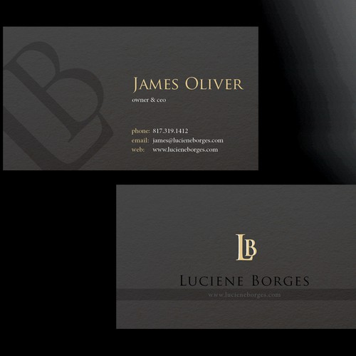 Luciene Borges needs a new logo and stationery