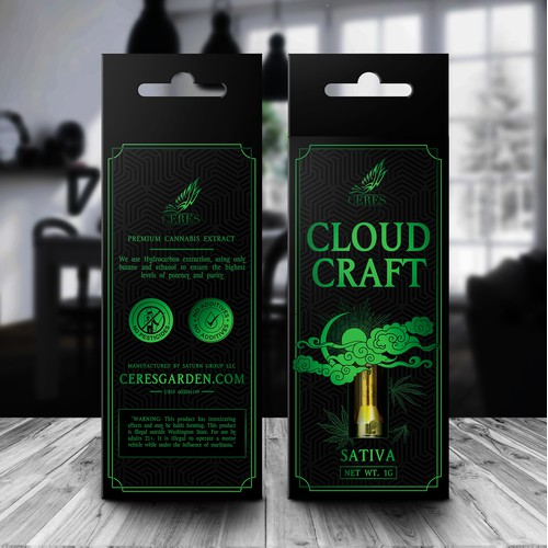 Cloud Craft CBD Vape