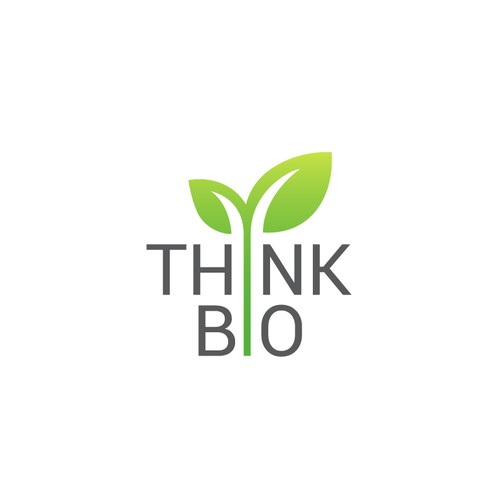 THINK BIO LEAVES GREEN LOGO