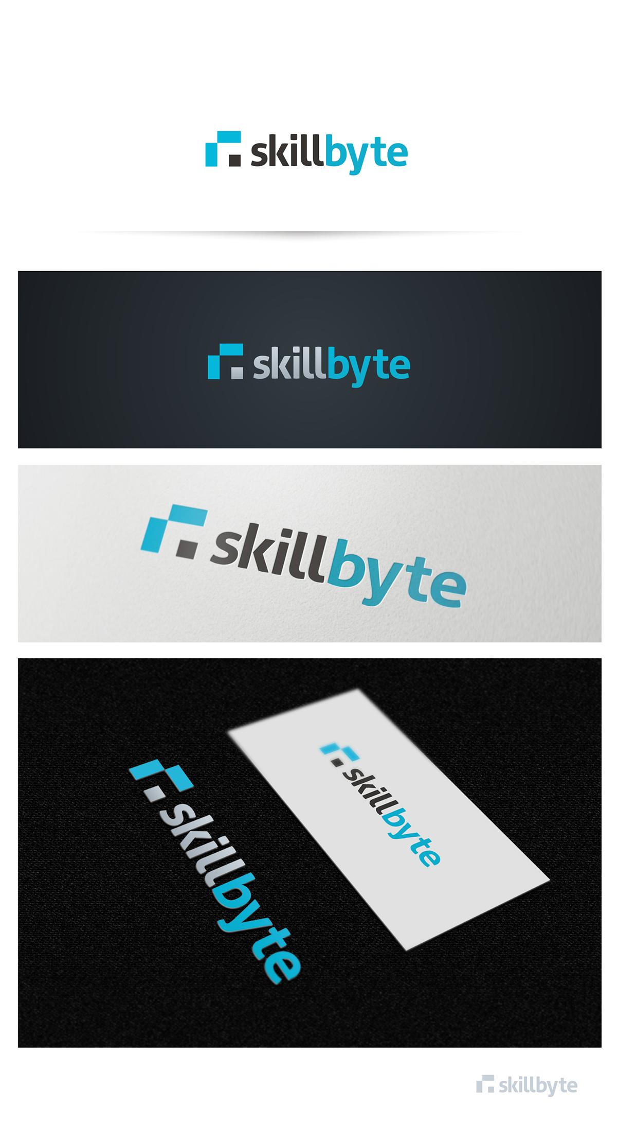 Create the next logo for SkillByte