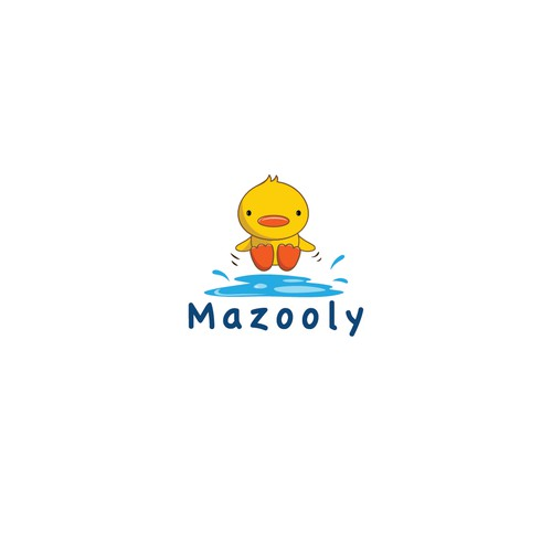 Logo for a baby brand