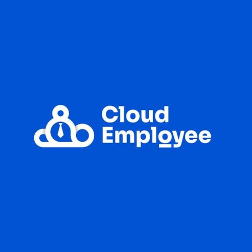 Cloud Employee logo Design