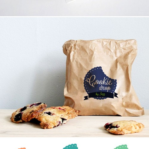 Create a logo for a cookie business