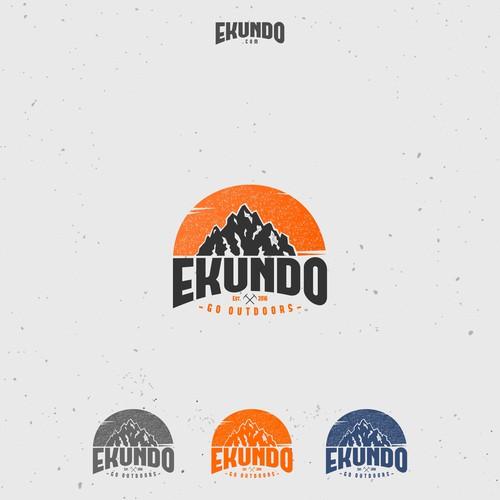 Logo per attrezzatura per escursioni