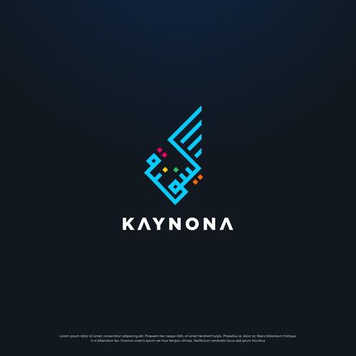 Arabic font style logo for Kaynona