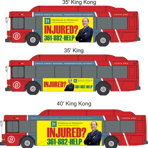 Bus Wrap fo Hermann & Hermann