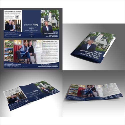 Brochure for Rustin platinum realty