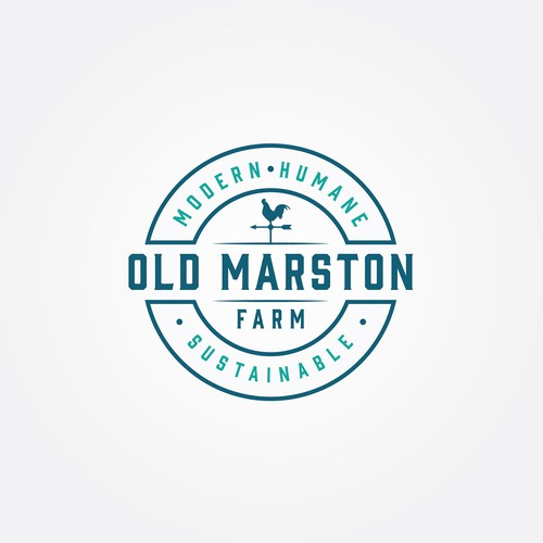 Logo for a farm project