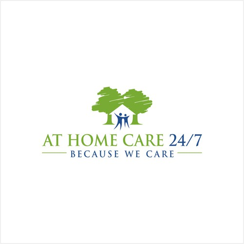 Logo for home care services