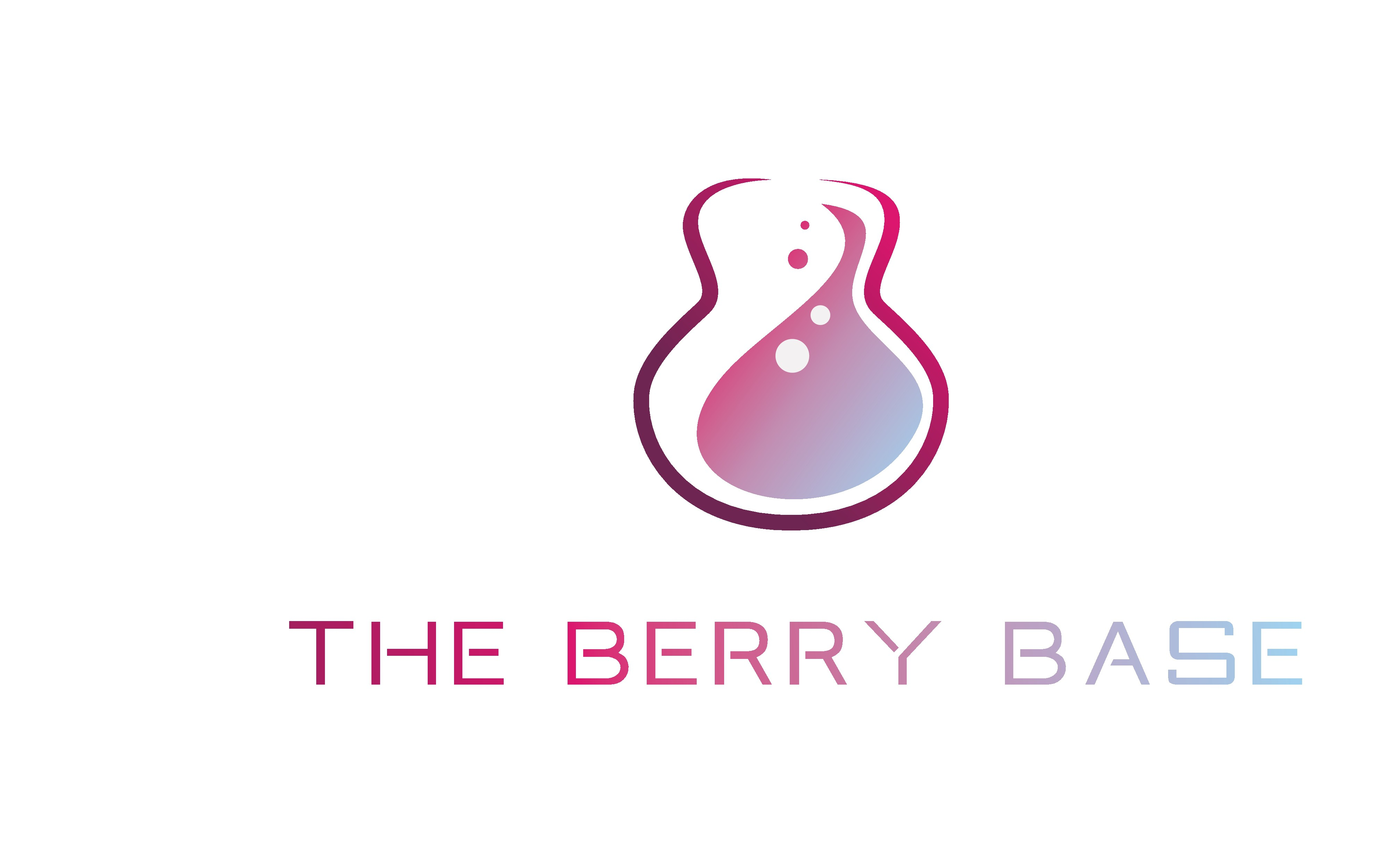 Create a B inspired by the shape of a bass guitar for the berry base