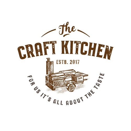 Logo for a catering service