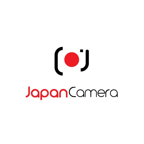 simple and clean logo concept for Japan Camera