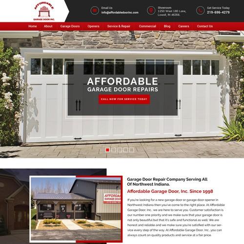 GlassDoor - Landing Page