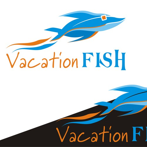 Logo Concept for Vacation Fish