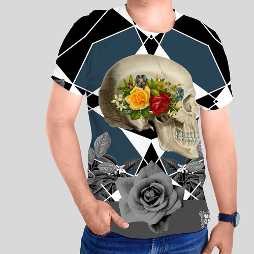 Gothic Skull T-shirt