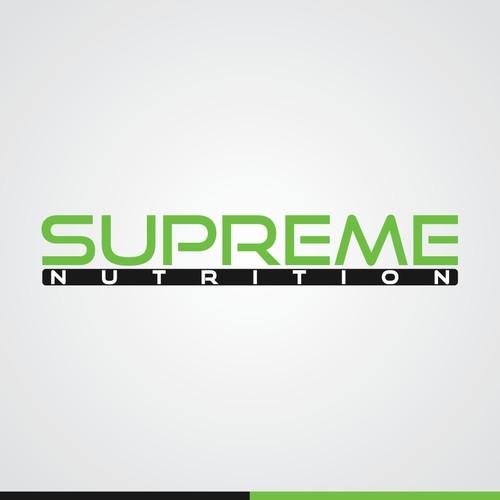 Supreme Nutrition Shop Logo