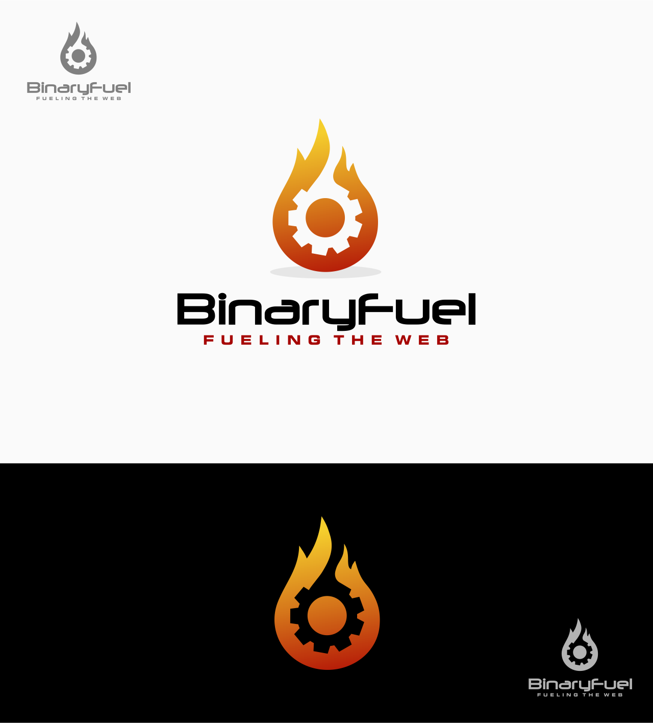 Create a Logo for BinaryFuel, the future leader of web development
