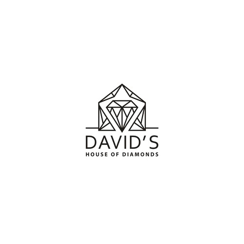 Logo for a global diamond jewellery business