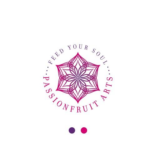 Passionfruit arts logo