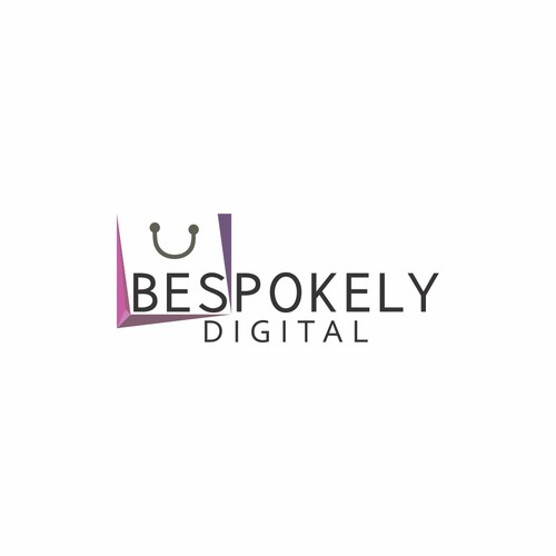 Create a logo for Bespokely Digital: Digital marketing agency specialized in fashion industry
