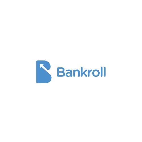 Modern minimalist logo for personal finance app.
