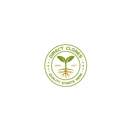 Badge Logo for a cannabis a clone shop