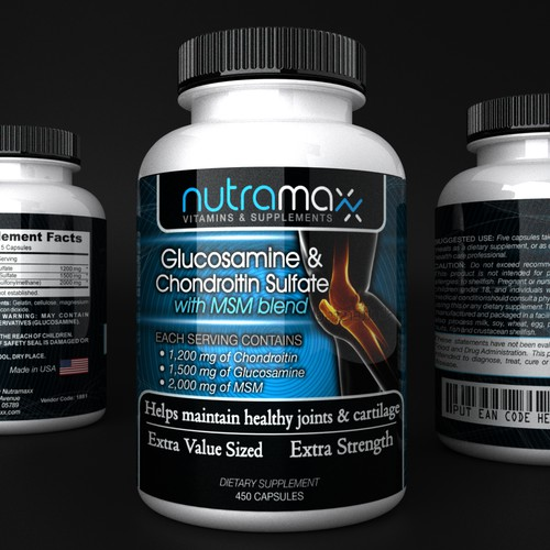 GUARANTEED PRIZE! Product label for Nutramaxx Vitamins and Supplements