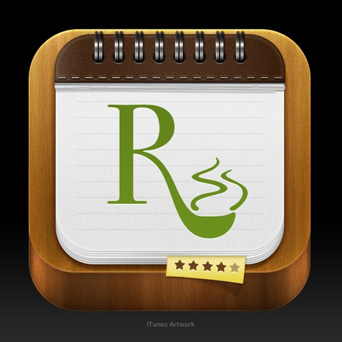 RecipePad new App Icon.