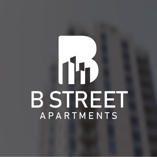 B Street Apartments Sans Serif Font