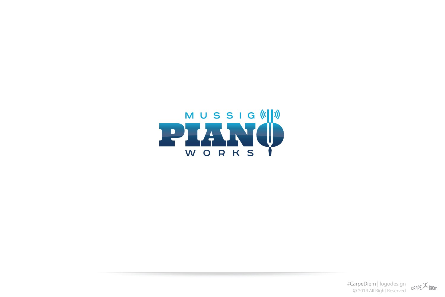 Iowa Piano Technician wants logo to brand biz to classy, high-end cliental