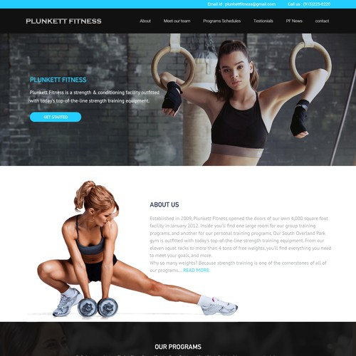 physical fitness website
