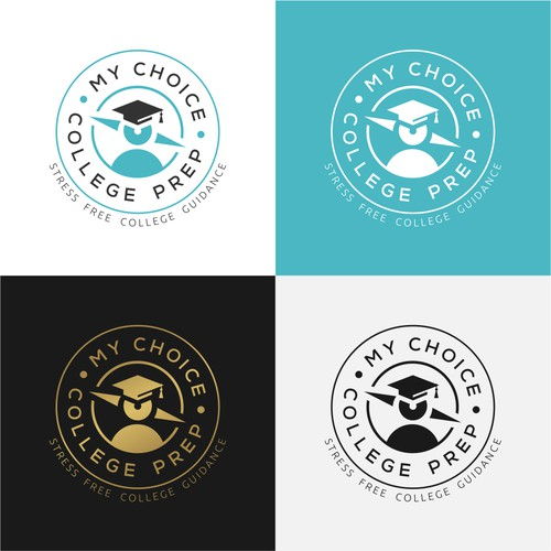 Logo concept for 'My Choice College Prep'
