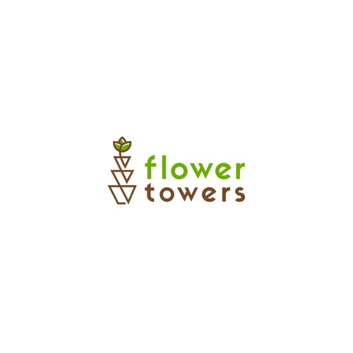 Logo for flower pot hanging system