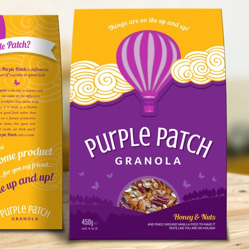 Granola Creative Pack Design