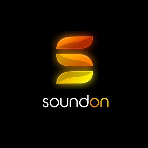 Logo for sound software company