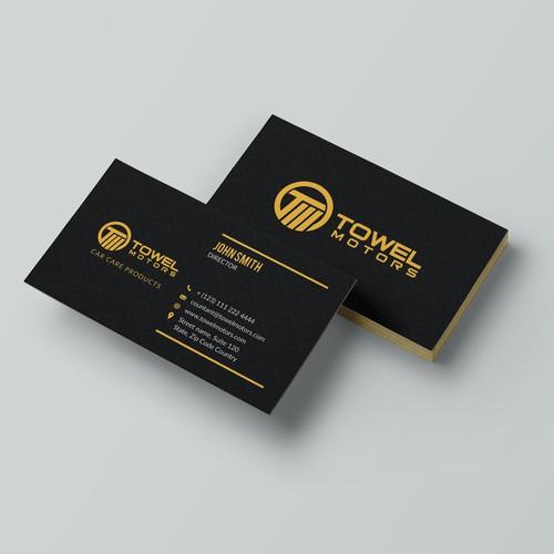 Towel Motors (Business Card)