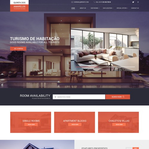 Web design for real estate business