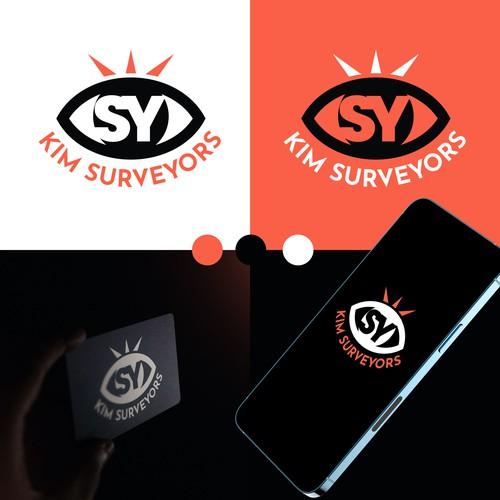 Logo for a surveyor company